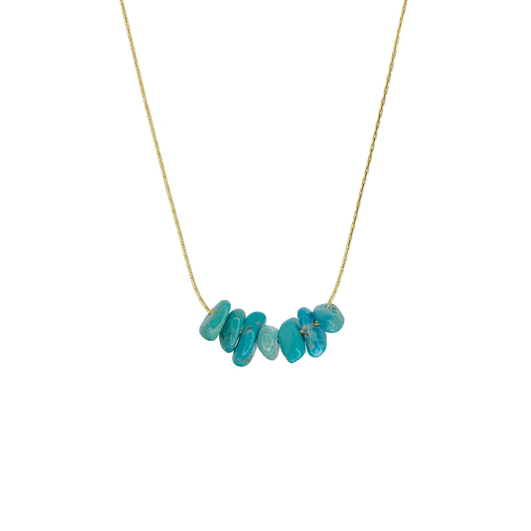 Protection Stone- Turquoise Necklace