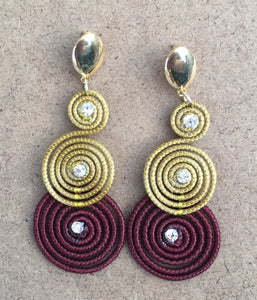 Long Swan Earrings - ART'E D TERRA