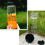 Frosted Leak-proof Candy  Water Bottle - BusyOrder