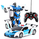Remote Controlled Transformer Car Robot - BusyOrder