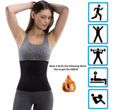 Tummy Shaper Belt - Sweat Slim Shapewear - BusyOrder