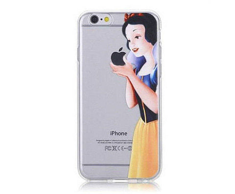 Snow White Apple Eating Iphone Case - BusyOrder