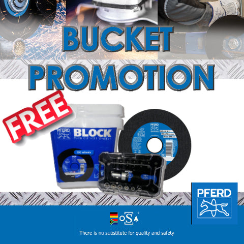 Pferd Bucket Promotion