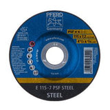 Pferd PSF Universal Grinding Wheels for Steel (Size: 115 - 230mm) - Kiloton Online Store