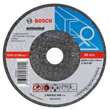 Bosch Professional Expert for Metal 115mm Grinding Discs with depressed center - Kiloton Online Store