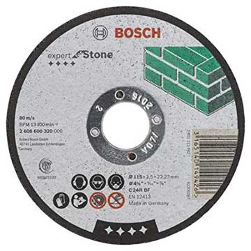 Bosch Professional Expert for Stone 115mm Straight Cutting Discs-Kiloton Online Store