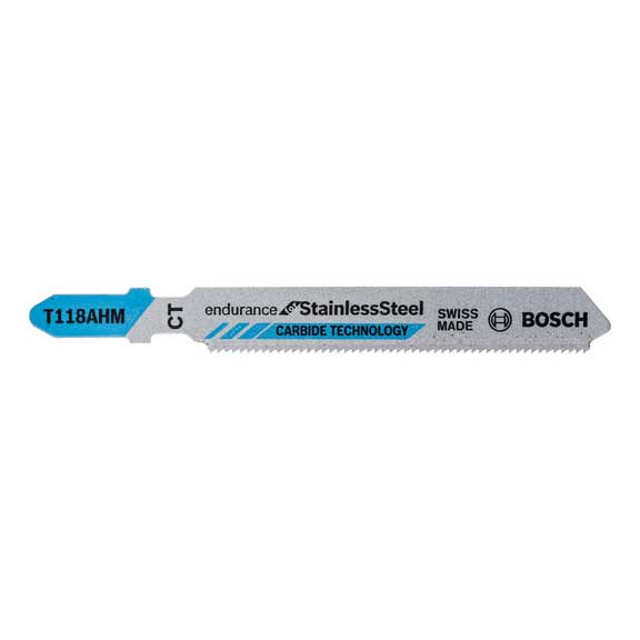 Bosch Professional Jigsaw Blades T 118 AHM for metal - Kiloton Online Store