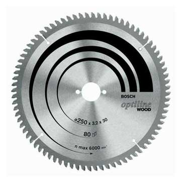 Bosch Professional Optiline Wood 216mm Circular Saw Blades-Kiloton Online Store