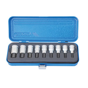 Gedore IN19 PM-9 9-Piece Allen Key Socket Sets (Sixe: PM-9, PA-9, SR-PM9)-Kiloton Online Store