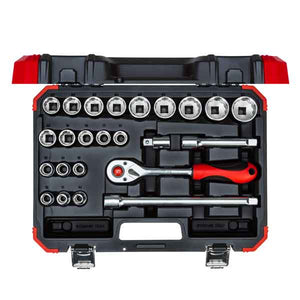 "Gedore Red 24 Piece 1/2"" Socket Sets - Kiloton Online Store"