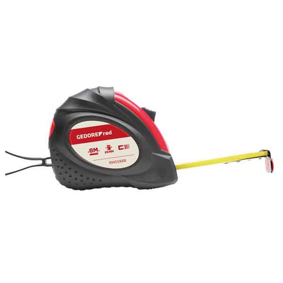 Gedore Red Tape Measures (Size: 3, 5 & 8m)-Kiloton Online Store