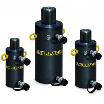 Enerpac HCR-Series, Double-Acting, Hydraulic Return, Hydraulic High Tonnage Cylinders-Kiloton Online Store