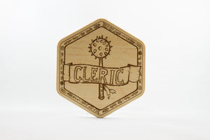 Cleric Coaster