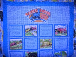 """The Little Engine that Could"" quilt"