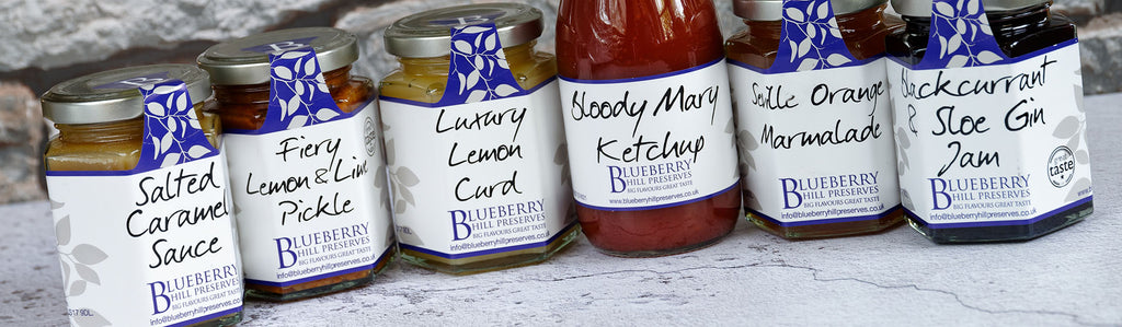 Blueberry Hill Preserves Product Range