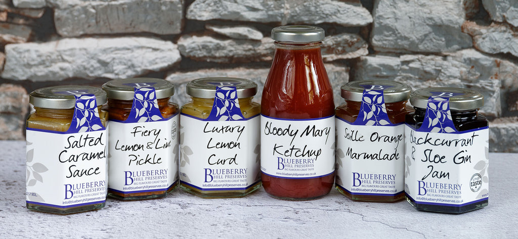 delivery page range image for blueberry hill preserves
