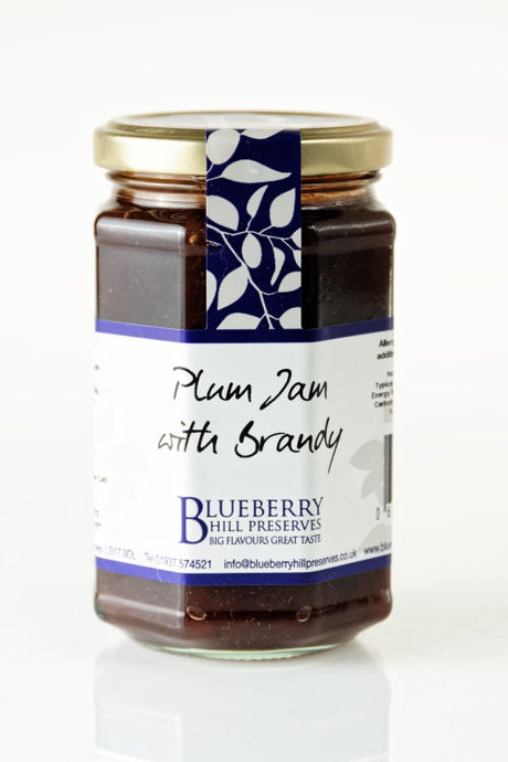 Plum Jam with Brandy