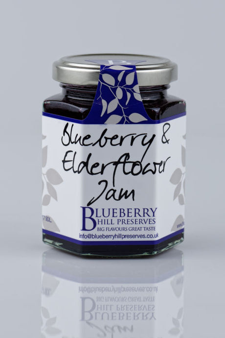 Blueberry and Elderflower Jam