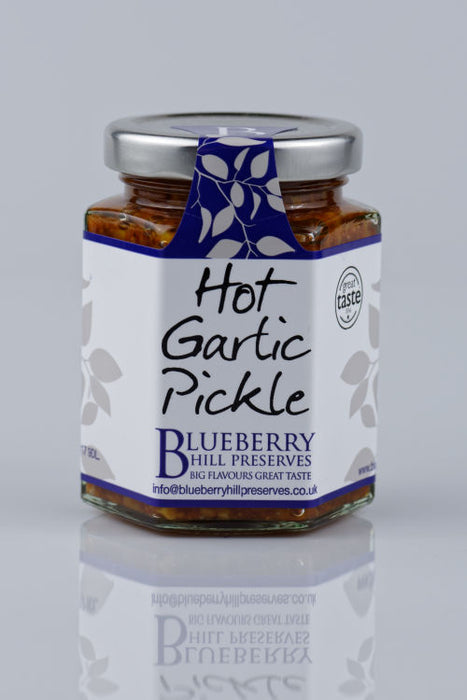 Hot Garlic Pickle