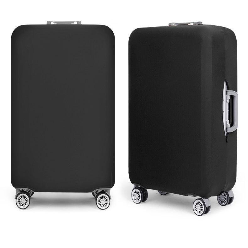 Black Luggage Protective Cover - Very light and tough preventing your luggage from being damaged.