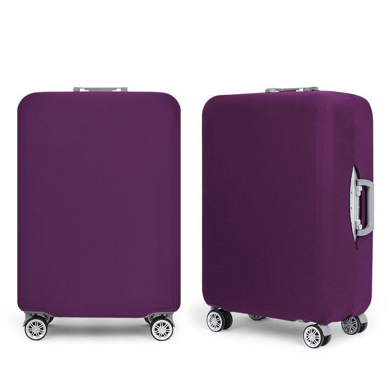 Purple Luggage Protective Cover - Very light and tough preventing your luggage from being damaged.