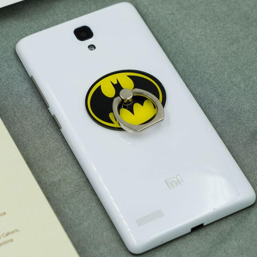 Batman Phone Ring Holder: Provides a good grip, prevents drops and deter thieves.