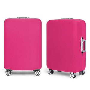 Magenta Luggage Protective Cover - Very light and tough preventing your luggage from being damaged.