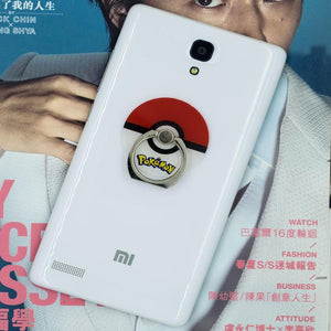 Pokeball Phone Ring Holder: Provides a good grip, prevents drops and deter thieves.