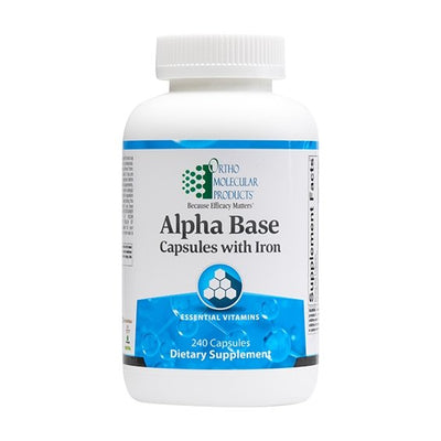Alpha Base Capsules with Iron 240c - Pharma 1 Online Store