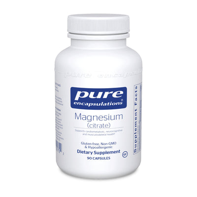 Magnesium Citrate 150 mg 90 vcaps - Pharma 1 Online Store