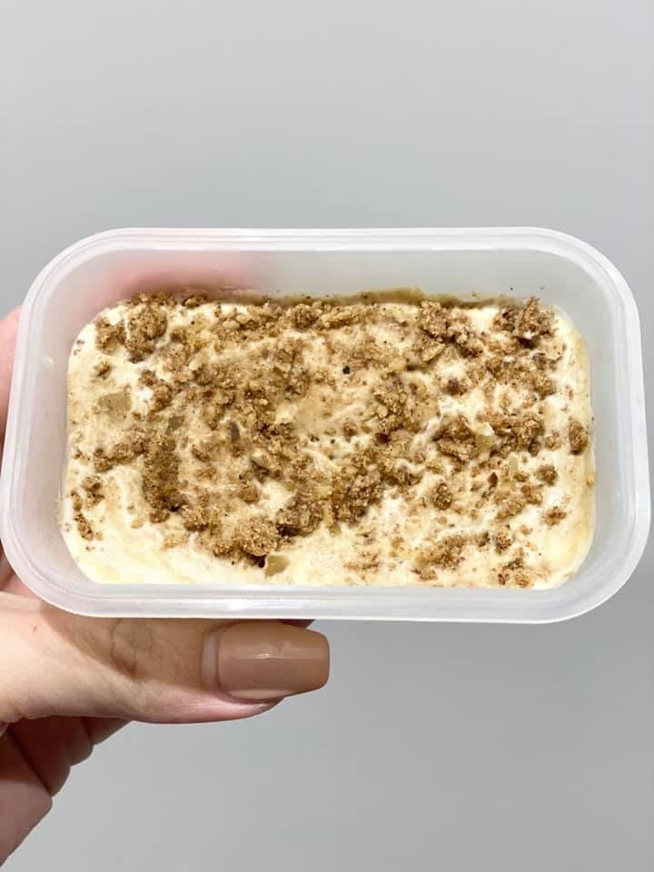 Keto Banoffee Ice Cream