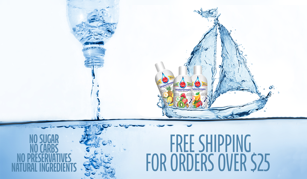 Free Shipping - VitalZing WaterDrops and Milk