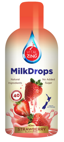 VitalZing Strawberry MilkDrops