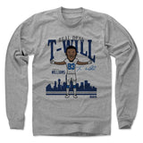 Terrance Williams Men's Long Sleeve T-Shirt | 500 LEVEL