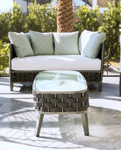 woven rope patio furniture