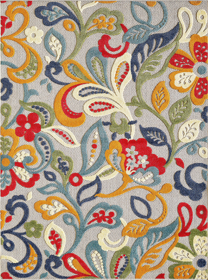 Outdoor Rug - Lilly Paisley