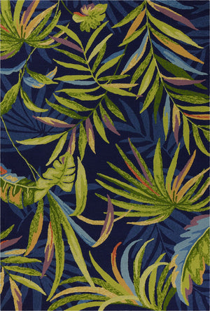 Outdoor Rug - Blue Palms