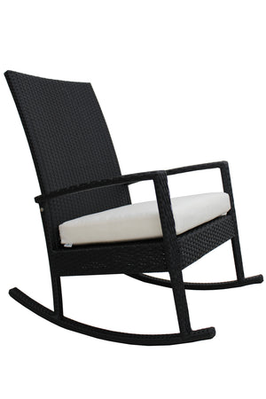 Outdoor Rocking Chair PE Rattan