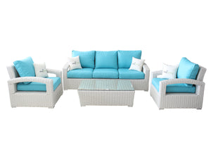 4-Piece Sofa and Chair Set