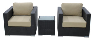 3 Piece Chair Set