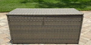 Outdoor Rattan Deck Box