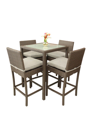 5 Piece Pub Style Dining Table