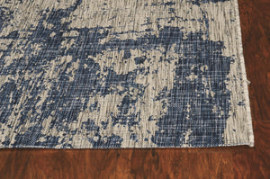 Outdoor Rug - Brushed Blue
