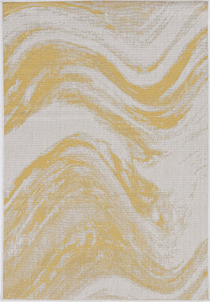 Outdoor Rug - Brushed Gold