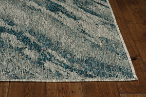 Outdoor Rug - Brushed Teal