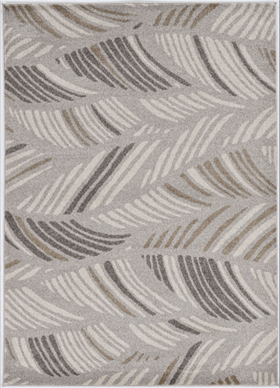 Outdoor Rug - Taupe Palms