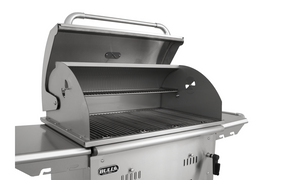 Bull Bison Premium Charcoal Grill Complete Cart