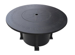 Round Cast Aluminum Fire Table