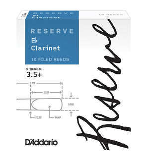 D'Addario Reserve Reeds Eb Clarinet - Box of 10