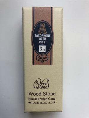 Ishimori Wood Stone Alto Saxophone Reeds - Box of 5